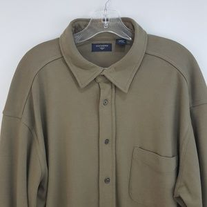 Dockers Button Down Cotton Big Tall Long Sleeve